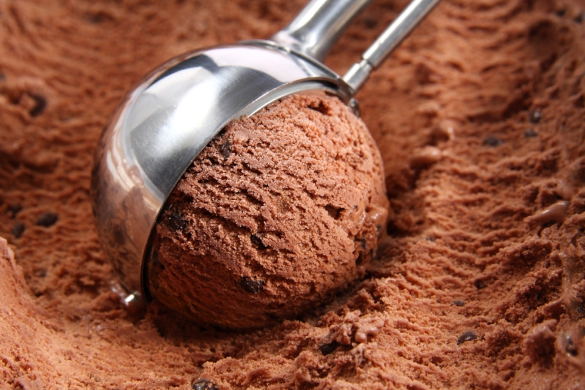 GUILT FREE HOME MADE CHOCOLATE ICE-CREAM